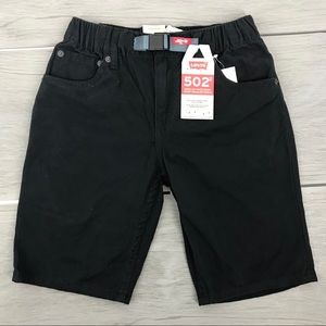 Levi's kids shorts 12 REG W26 falls at knee black
